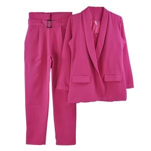 Komplet od tri dijela blazer + hlače + top 8 BOJA *limitirana kolekcija*