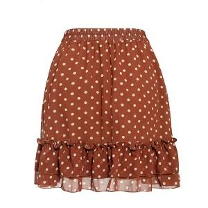 Mini točkasta suknja na volane *limitirana kolekcija*