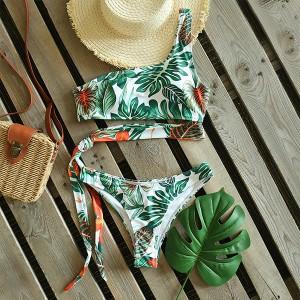 Bandage dvodijelni kupaći kostim na jedno rame