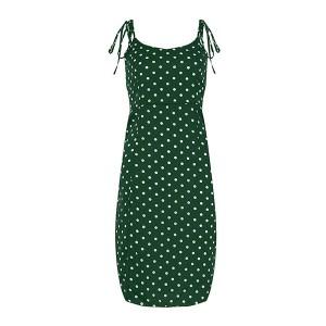 Mini točkasta haljina na bretele 5 boja