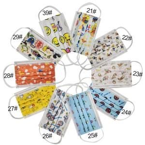 Troslojna maska paket od 100-200-300 komada razni printovi