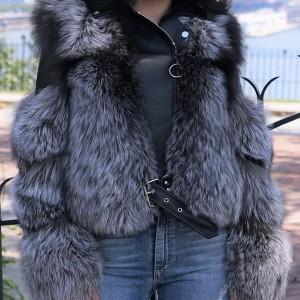 Kratka bunda s kožnatim dijelovima 7 boja