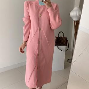 Pletena kardigan haljina s remenom 3 boje