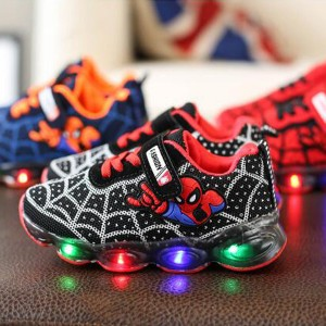 Dječje Spiderman svijetleće tenisice