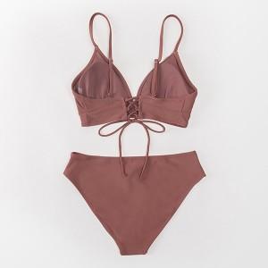 Push up dvodijelni kupaći kostim s klasičnim dubokim gaćicama 3 BOJE *Limitirana kolekcija*