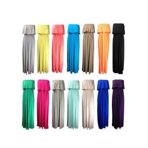 Maxi bandeau haljina razne boje