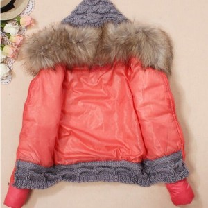 Zimska jakna s pletivom