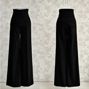 Trapez poslovne hlače visokog struka veličina 36/38