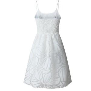 Mini haljina na bretele s volanom