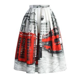 Midi London suknja