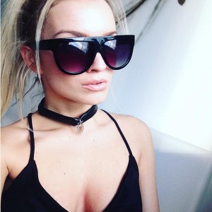 C inspired ombre sunčane naočale