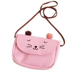 Mini maca torbica s pomponima
