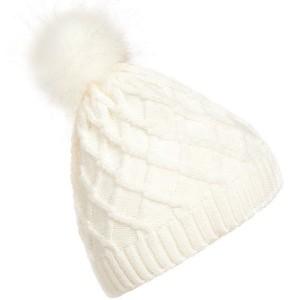 Pletena zimska kapa s mekanim coflekom