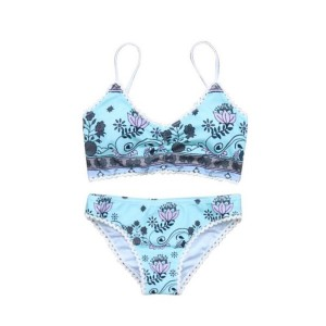 Boho push up top kupaći kostim