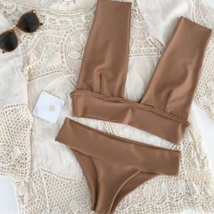 Push up kupaći kostim s gaćicama povišenog struka