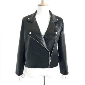 Zipper motoristička kožna jakna