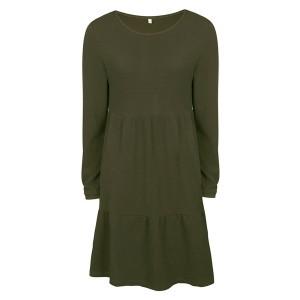 Mini zvono haljina s teksturom