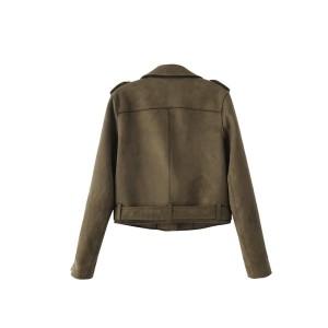 Kratka motoristička jakna izgleda antilopa