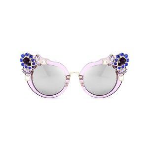 Mačkaste naočale s kristalima