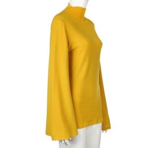 Žuta dolčevita zvono rukava