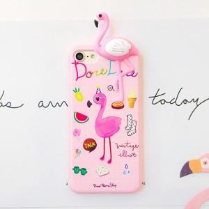 3D Flamingo maskica za mobitel