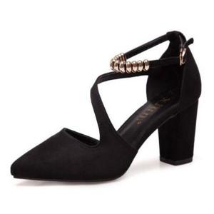 Cipele stabilna peta s remenom oko gležnja