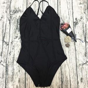 Jednodijelni push up kupaći kostim s prošivima
