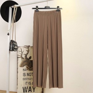 Capri plisirane hlače na gumu