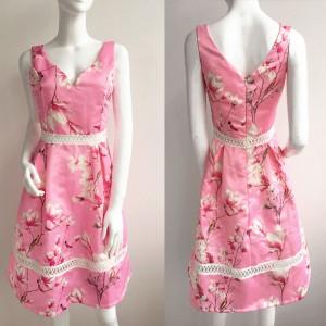 Svečana haljina s magnolijama