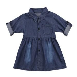 Traper haljina dugih rukava za djevojčice