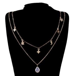 Mini ogrlica s dva lančića