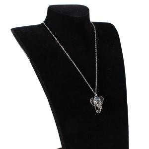 Vintage sretna ogrlica sa privjeskom slona