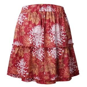 Mini cvjetna suknja povišenog struka