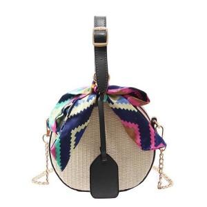 Mini torbica s mašnom