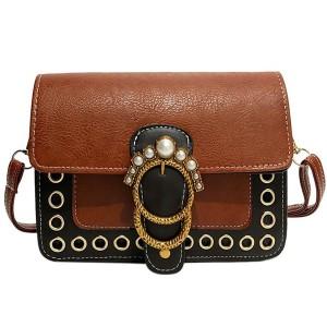 Vintage torbica s ukrasnim biserima