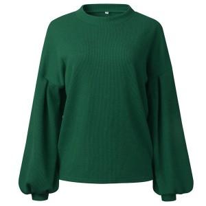 Široki pulover šišmiš rukava