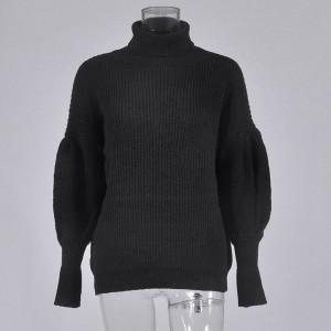 Dolčevita pulover zvono rukava