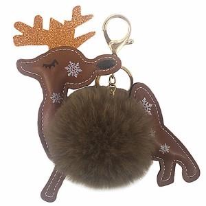 Blagdanski božićni privjesak za torbicu ili ključeve sob