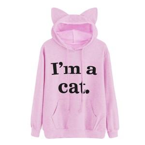 Hoodie majica s macom