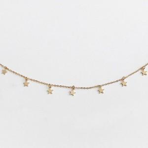 Mini kratka ogrlica sa zvjezdicama