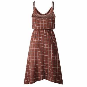 Asimetrična haljina geomterijskog uzorka