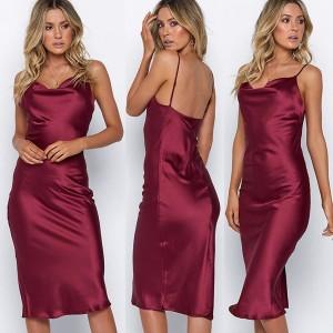 Elegantna kombine haljina na brelete