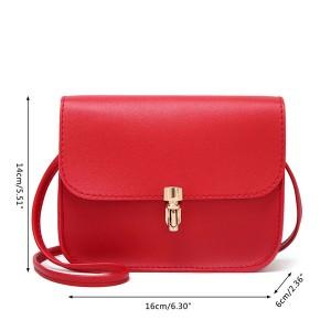 Mini poštarska torbica s kopčom