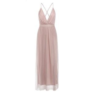 Duga haljina otvorenih leđa od tila *limitirana kolekcija*