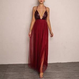 Duga prozračna haljina od šifona 3 modela *limitirana kolekcija*