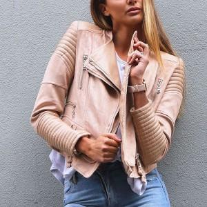 Kombinirana motoristička kožna jakna