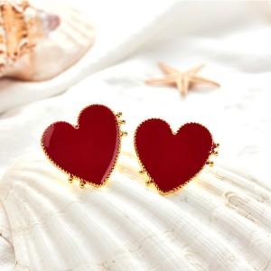 Naušnice u obliku srca