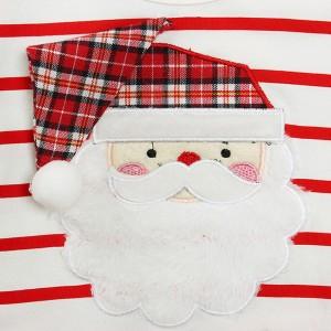 Haljina od tila za djevojčice s djedom Božićnjakom