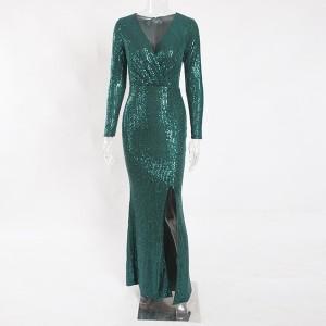 Duga svečana haljina na šljokice*premium kvaliteta*
