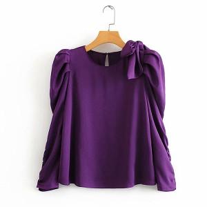 Elegantna bluza s mašnom *limitirana kolkcija*